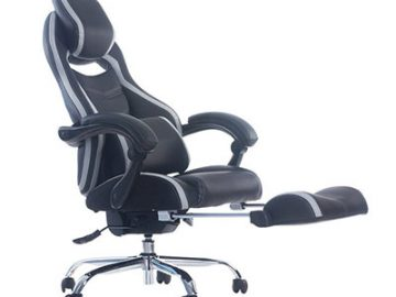 Merax-Racing-Style-Executive-PU-Leather-Swivel-Chair-with-Footrest