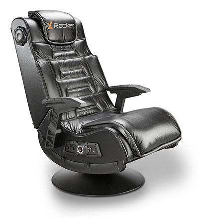 X Rocker Pro Series Pedestal 2.1 Video Gaming Chair, Wireless