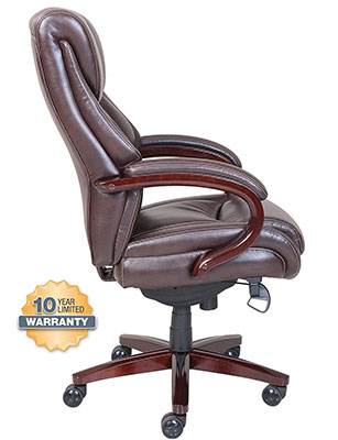 leather boy reclining lazy cream brown la z office chair