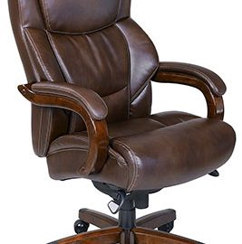 lazboy delano big u0026 tall executive bonded leather office chair review