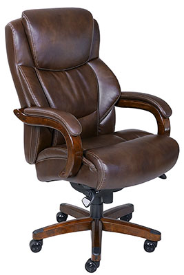 la z boy delano big tall executive bonded leather office chair