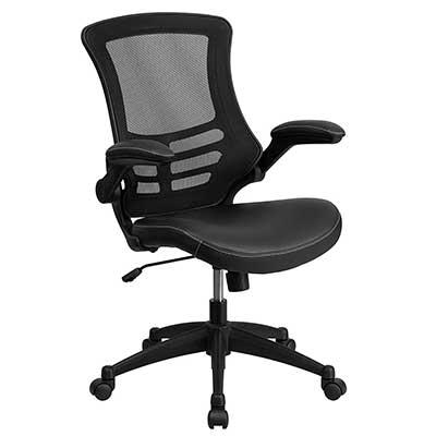 4-Flash-Furniture-Mid-Back-Black-Mesh-Swivel-Task-Chair