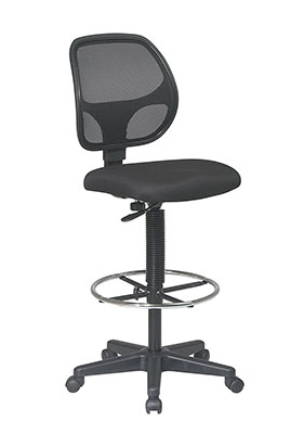 7-Office-Star-Deluxe-Mesh-Back-Drafting-Chair