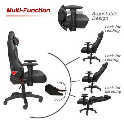 Overall The Homall Gaming Chair Is One Of Best Chairs On Market That You Can Also Use As An Office Thing Be Sure