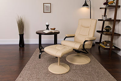 Flash-Furniture-contemporary-recliner-and-ottoman-at-the-office