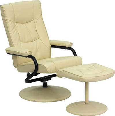 Flash-Furniture-contemporary-recliner-and-ottoman