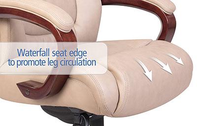 La-Z-Boy-Miramar-executive-chair-waterfall-seat