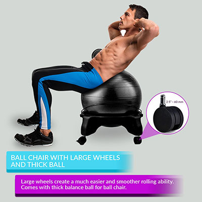 LuxFit-Ball-chair-men-exercising