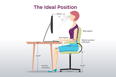 How To Have The Proper Sitting Posture At Computer