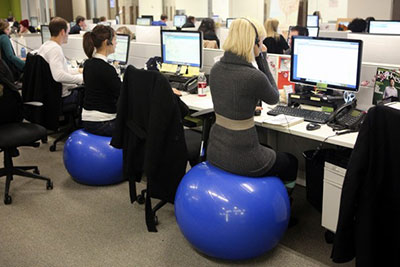Groovy Sitting On Exercise Ball At Work Is It Something You Home Interior And Landscaping Ponolsignezvosmurscom